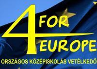 4 FOR EUROPE Verseny