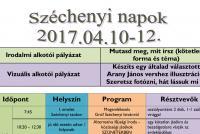 Széchenyi napok 2017.