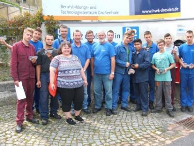 Illéssysek nyugat-európai szakmai gyakorlatokon Németországban