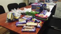 Csoki-gyűjtés a leukémiás gyerekeknek