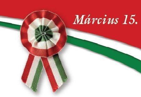 """Emlékezés 1848. március 15.-re a Csicsergő ovisokkal""""."""