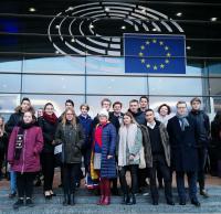 Beszámoló a Youth Parlament projektről