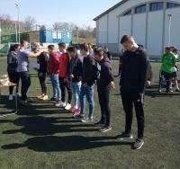 A Zsolnay Kupa műfüves focitornáján iskolánk csapata bronzérmet nyert!