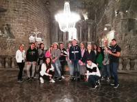 Beszámoló a 12.B  lengyelországi kirándulásáról