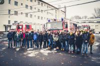 Katasztrófavédelmi Oktatási Központ látogatáson a 10.A osztály