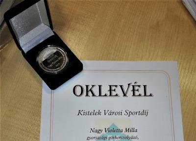 Sporteredmény - Nagy Violetta Milla