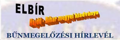 BŰNMEGELŐZÉSI HÍRLEVÉL2020