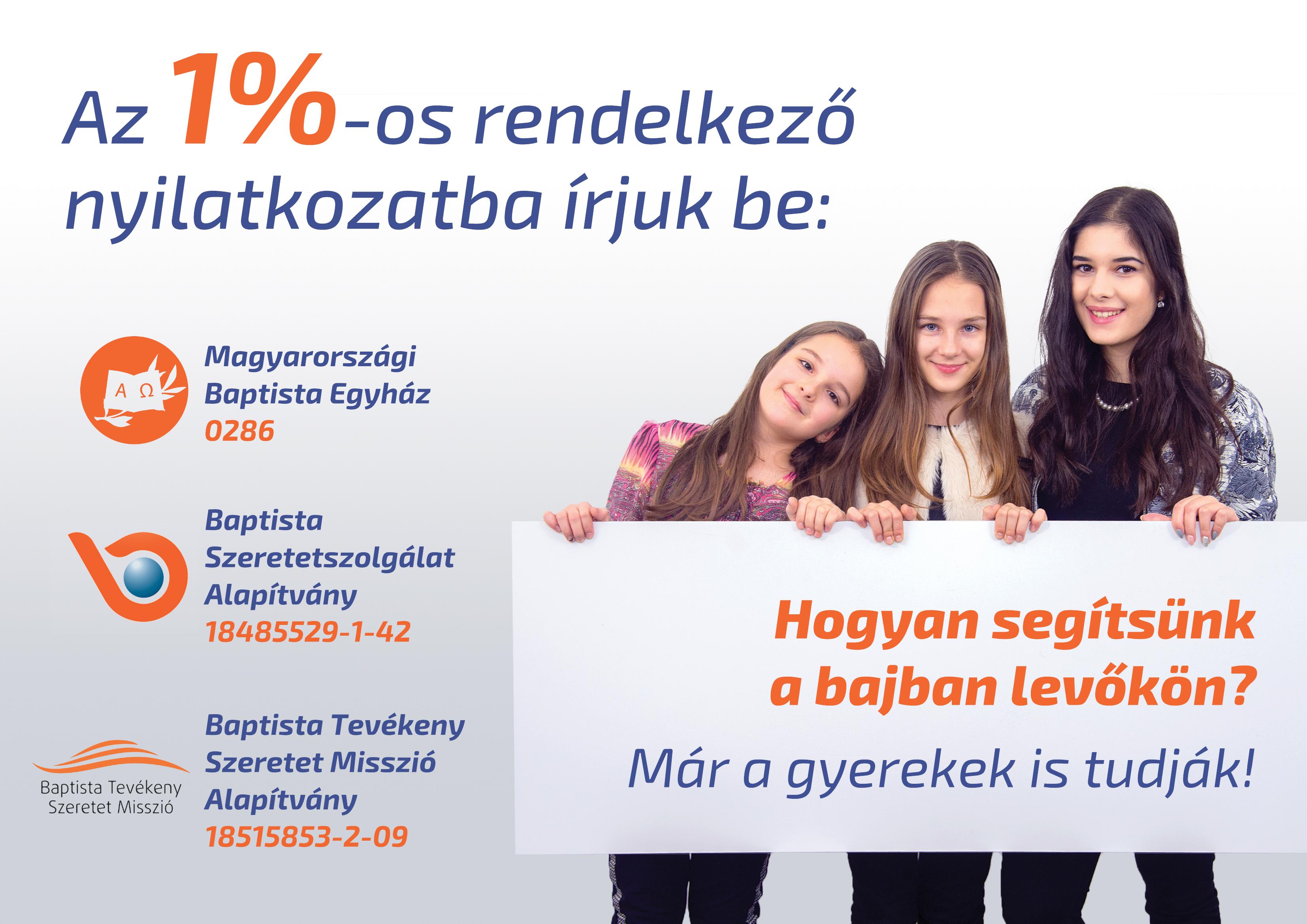 Felajánlás adó 1%