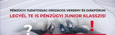 A Legyél Te is Pénzügyi Junior Klasszis! verseny