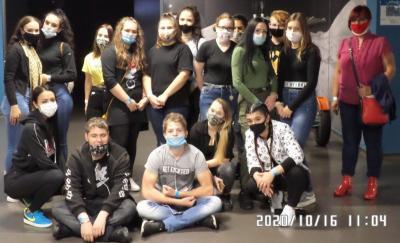 Illéssys diákok egy napja a Csodák Palotájában
