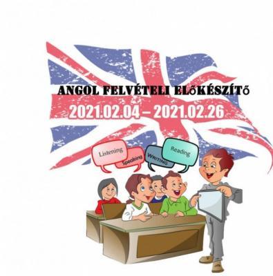 Angol felvételi előkészítő 2021