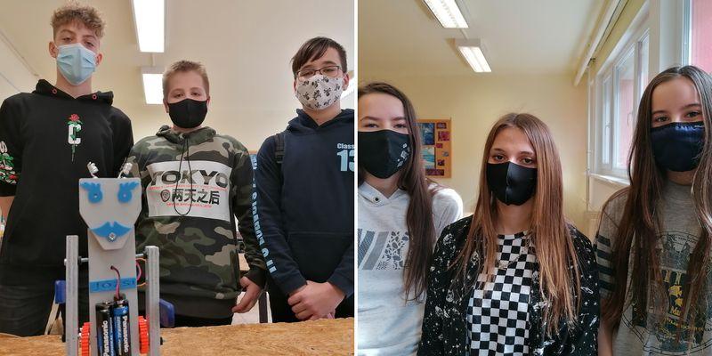 A Gép-Ész és a Villany-Ász verseny második fordulójában tanulóink
