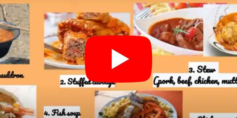 Diákjaink a magyar konyháról készítettek angol nyelvű videót