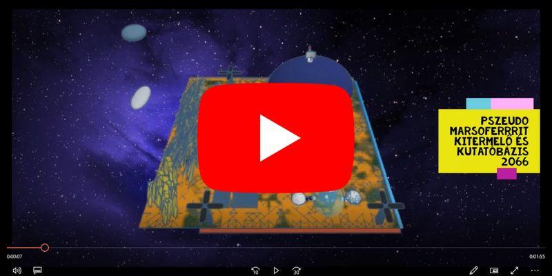 A jövőbeli Marsról készítettek 3D-s kisfilmet diákjaink