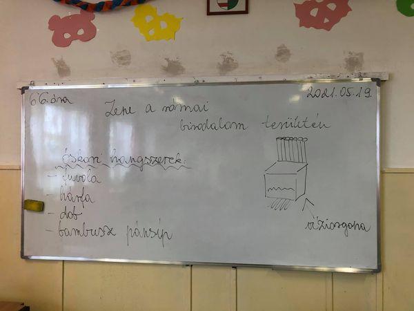 5.osztály,ének óra, Téma:Zene a római birodalom területén Tanár : Bernadett Gadzsa