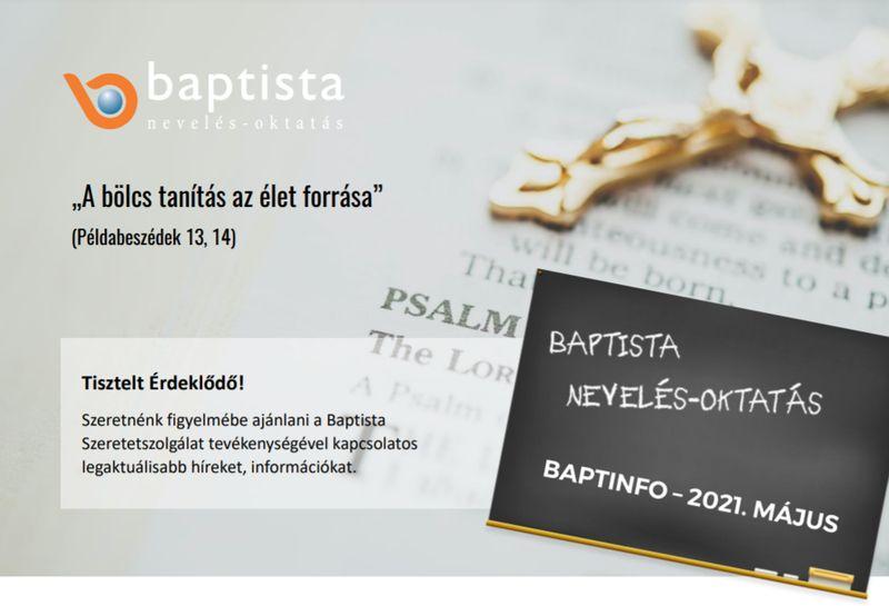 Baptista információs kiadvány!