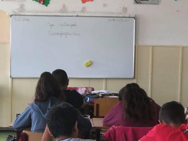 6.osztály,irodalom óra,Összefoglalás, Előtte egy kis röpdolgozat Dobó István esküjéből Tanár :Bernadett Gadzsa