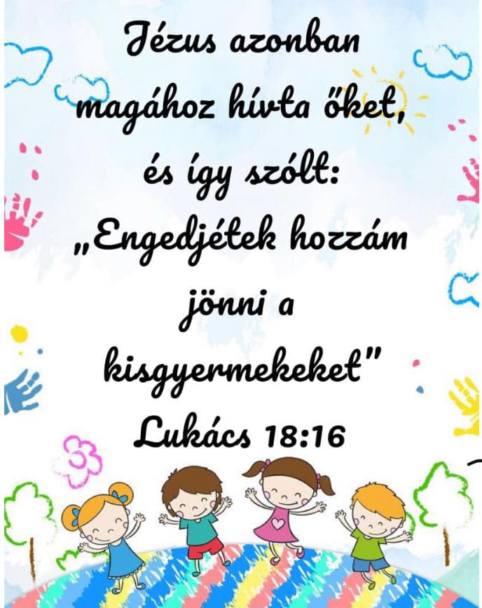 Áldást a gyermekekre