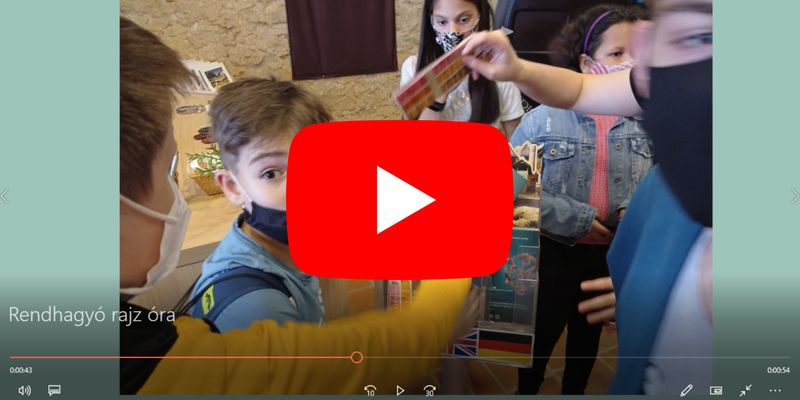 Rendhagyó rajzóra a Középkori Egyetemen (videós beszámoló)