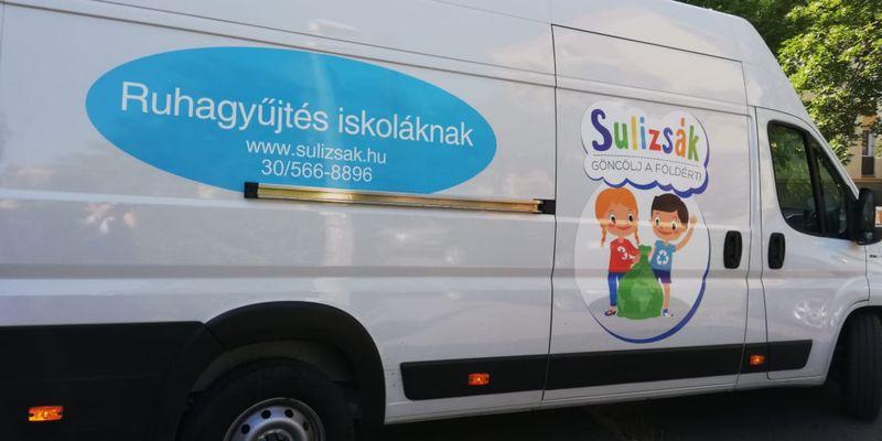 Fantasztikus eredménnyel zárult a Sulizsák projekt