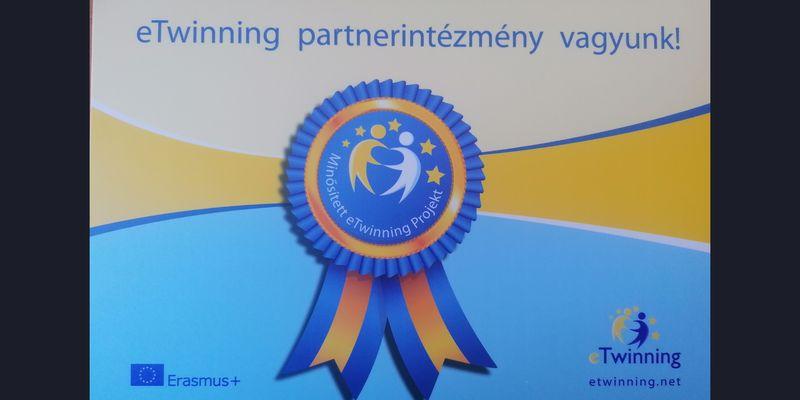 Iskolánk az eTwinning partnerintézménye lett