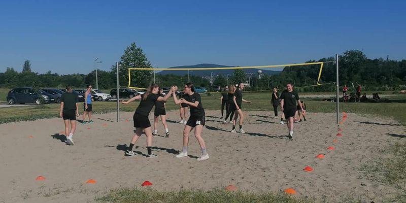 Röplabda bajnokság volt az utolsó sportesemény a gimnáziumban