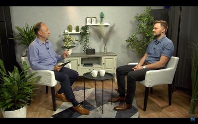 Dr. Steiner József misszióigazgató beszélgetése Pollak Dávid iskolalelkésszel a Pax Televízió műsorán
