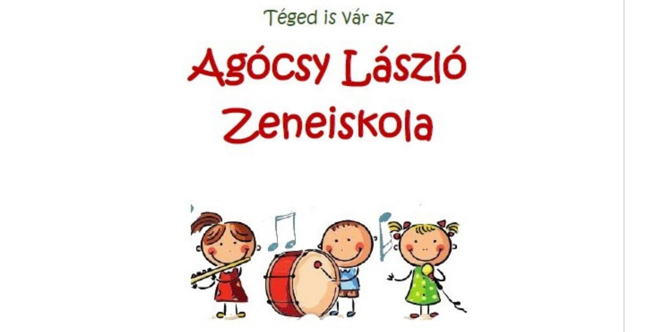 Beiratkozás az Agócsy László Zeneiskolába 2021