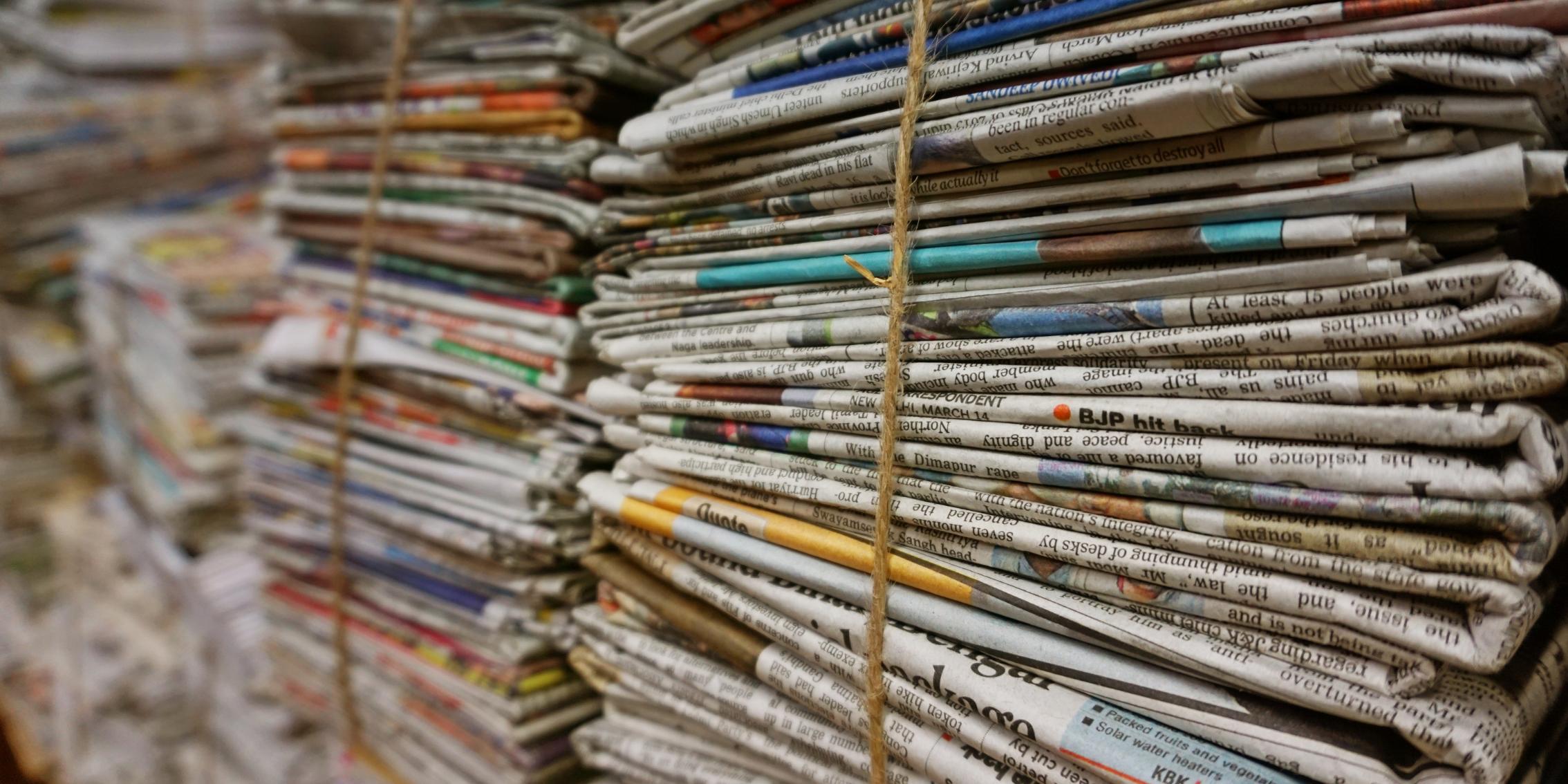 Októberben papírgyűjtés az iskolában