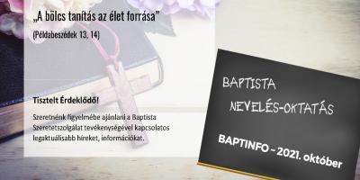 Baptista nevelés-oktatás (hírlevél)